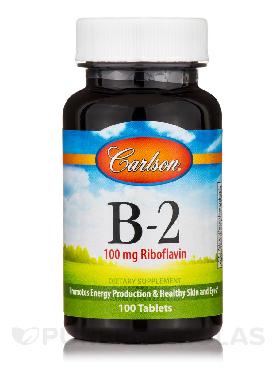B-2 100 mg - 100 Tablets
