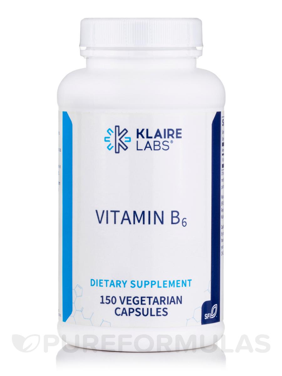 Vitamin B6 - 150 Vegetarian Capsules