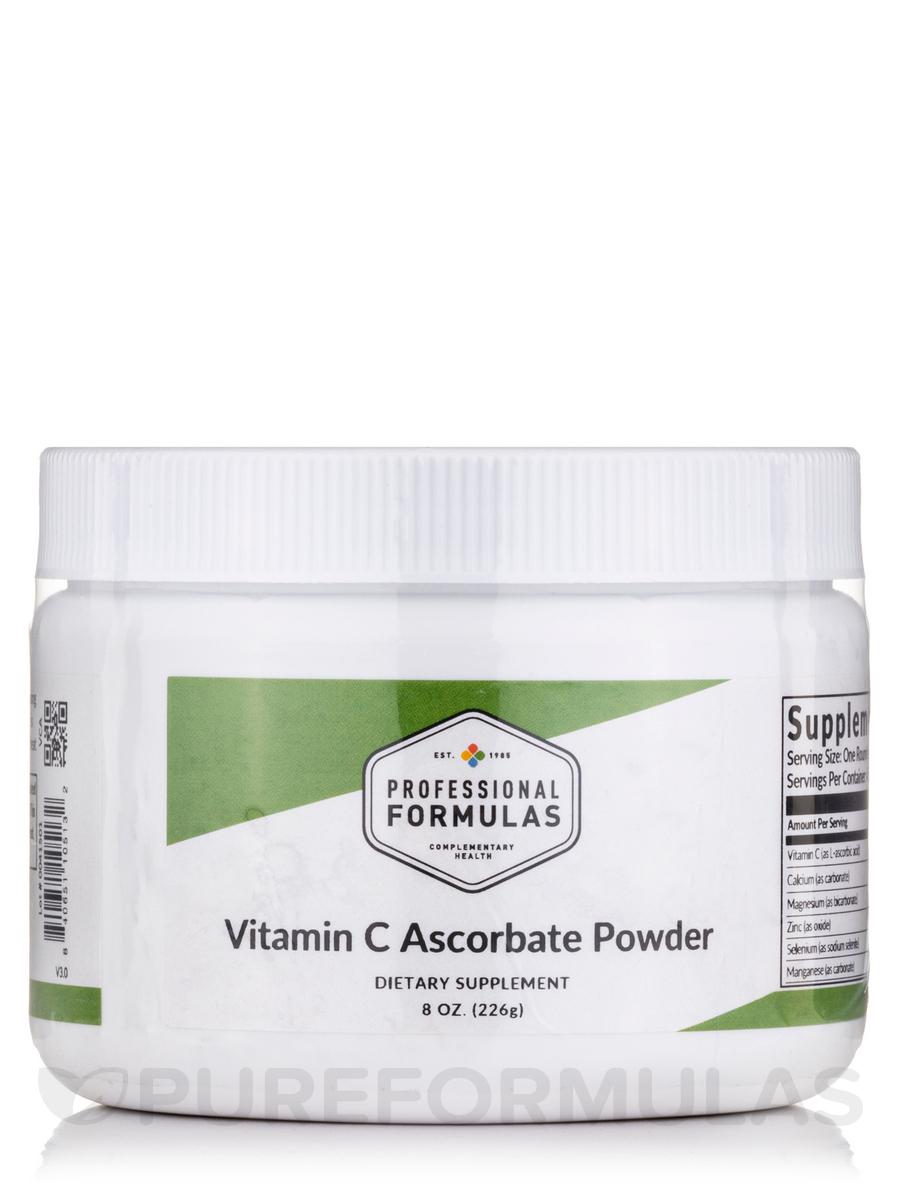 Vitamin C Ascorbate - 6 oz (170 Grams)