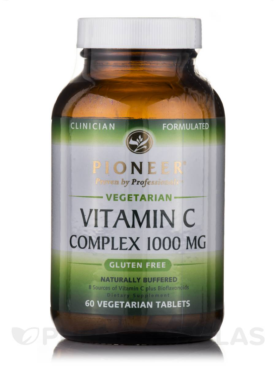 Vitamin C Complex 1000 mg - 60 Vegetarian Tablets