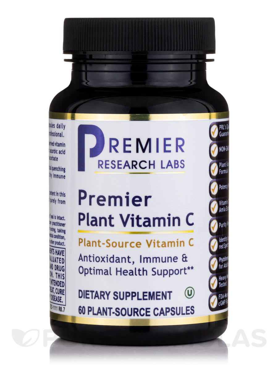 Premier Vitamin C - 60 Vegetable Capsules