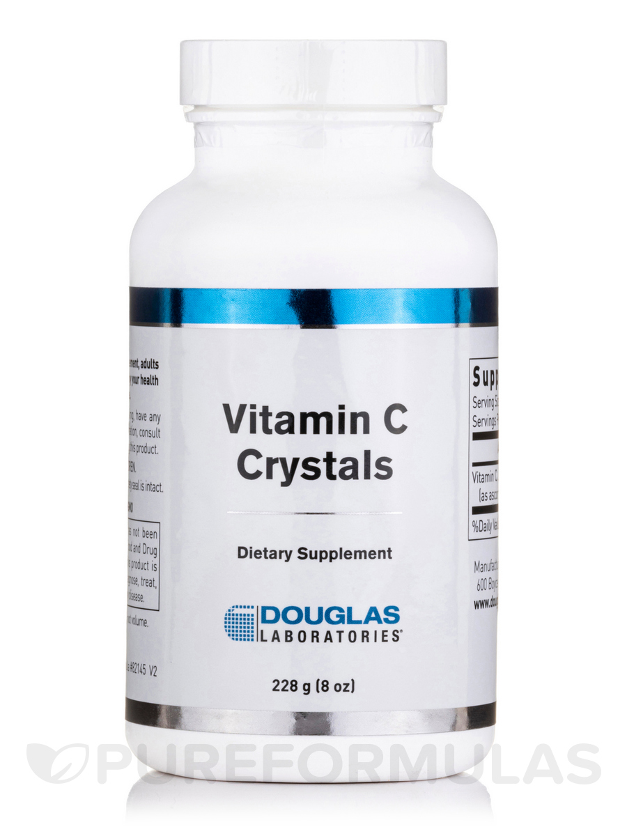 Vitamin C Crystals - 8 oz (226 Grams)