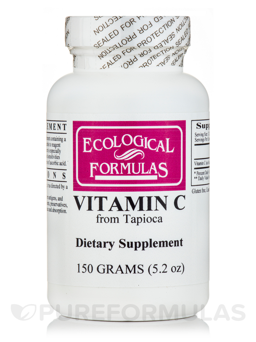 Vitamin C from Tapioca - 150 Grams