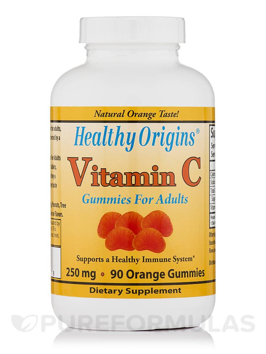 Vitamin C 250 mg (Orange Flavor) - 90 Gummies