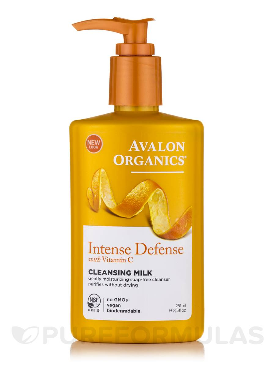Intense Defense with Vitamin C Cleansing Milk - 8.5 fl. oz (251 ml)