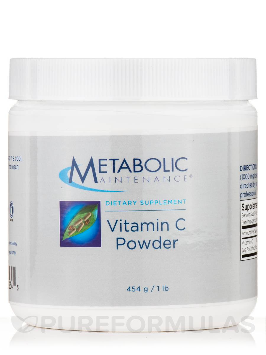 Vitamin C Powder - 1 lb (454 Grams)