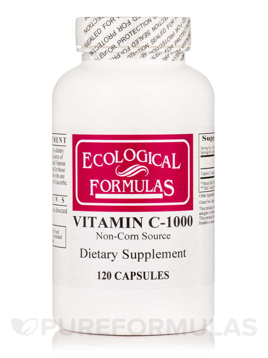 Vitamin C-1000 Non-Corn Source - 120 Capsules
