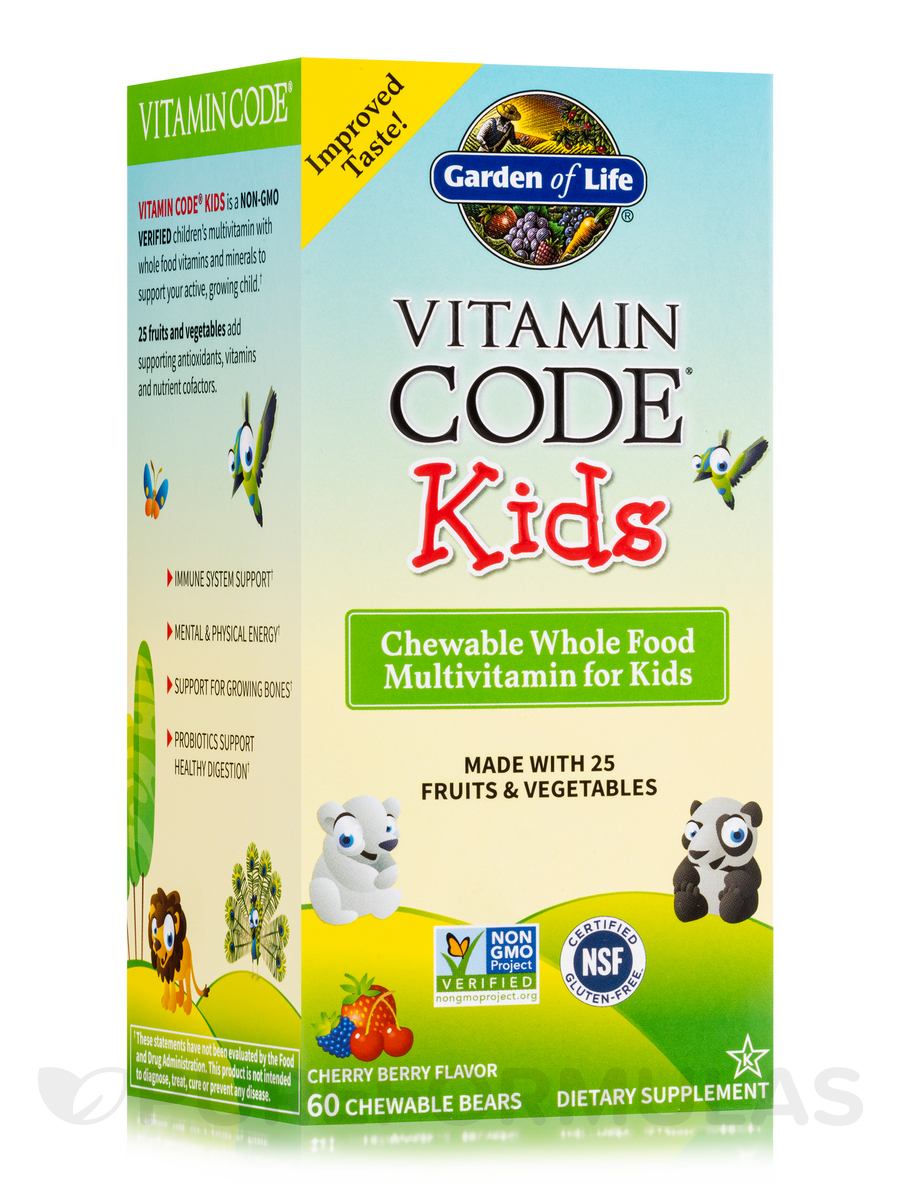 Vitamin Code® - Kids - 60 Chewable Bears