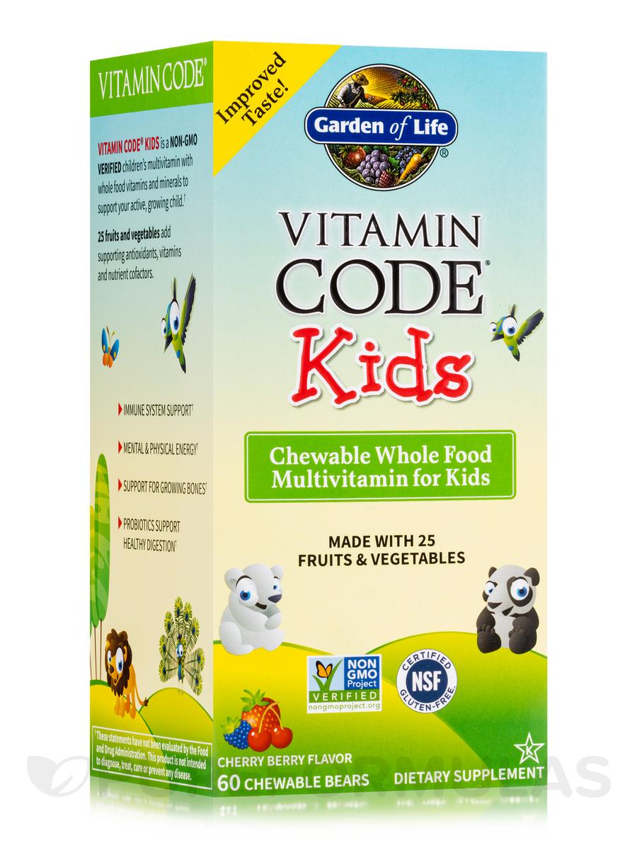 Vitamin Code® - Kids - 60 Chewable Bears