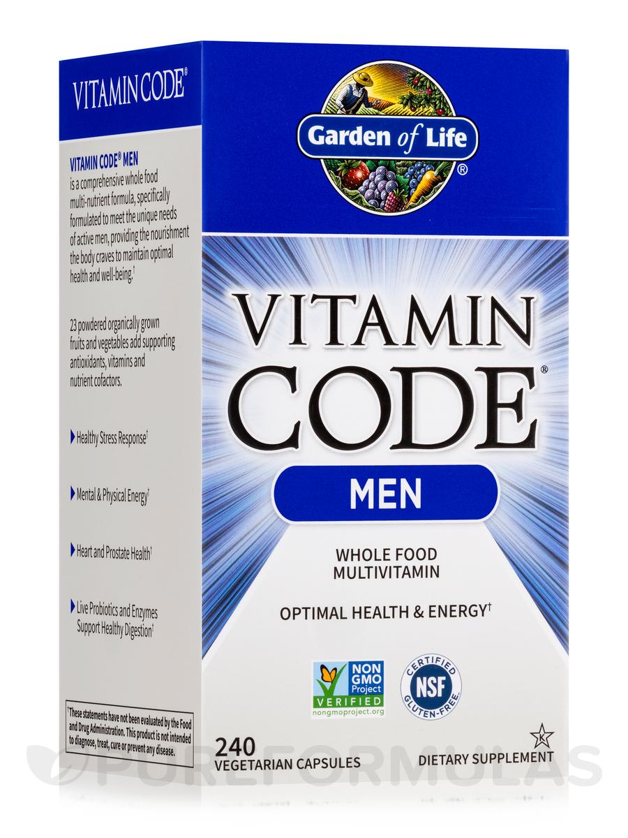 prev garden label views code organics more next of for men evolution capsules life vitamin