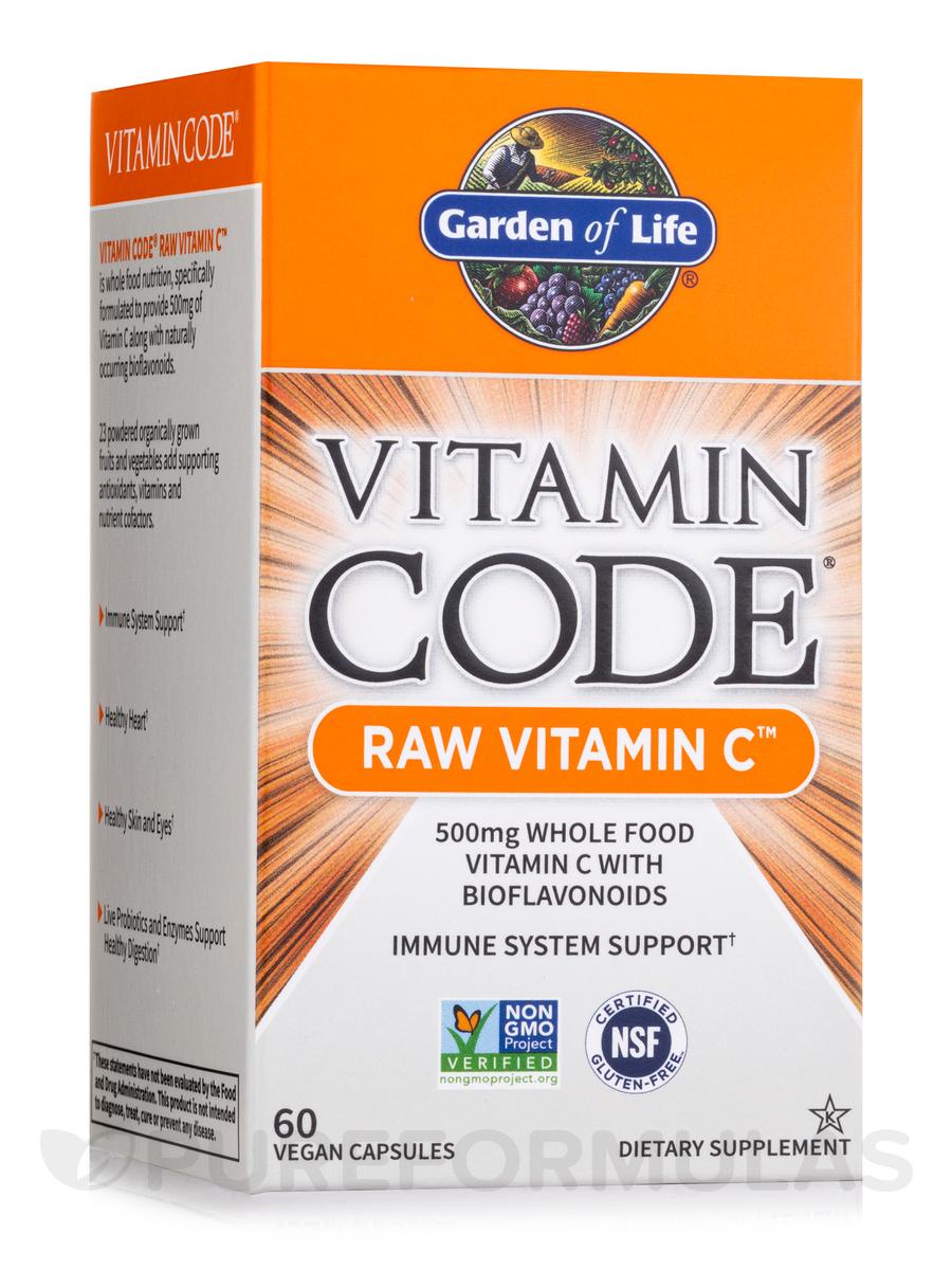 Vitamin Code® - RAW Vitamin C - 60 Vegan Capsules