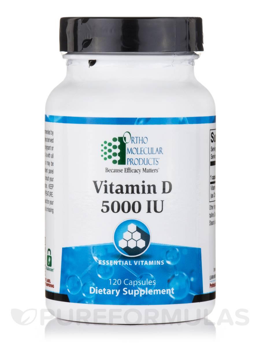 Vitamin D 5000 IU - 120 Capsules