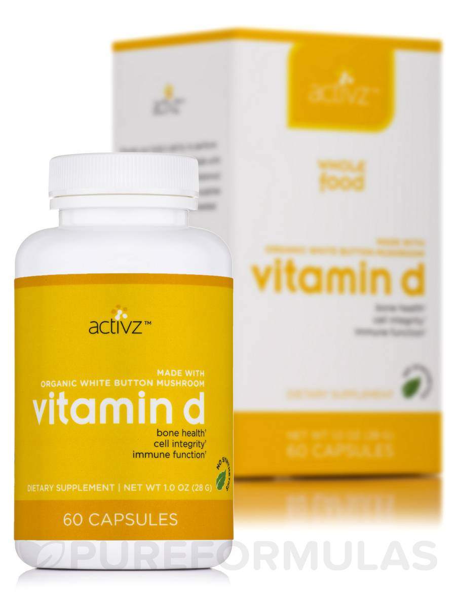 Vitamin D - 60 Capsules (1.0 oz / 28 Grams)