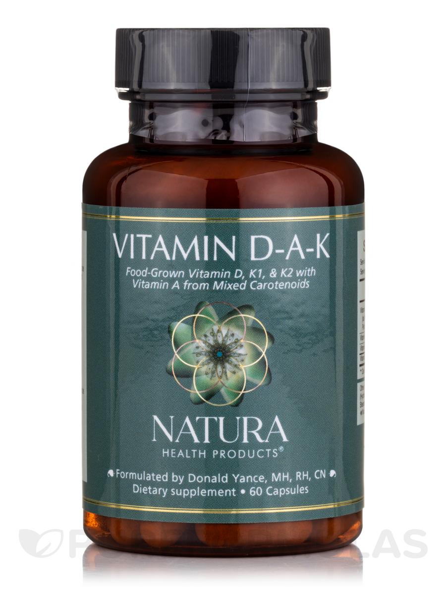 Vitamin D-A-K - 60 Capsules