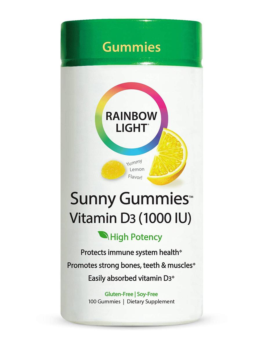 Vitamin D3 1000 IU Sunny Gummies™ (Lemon Flavor) - 100 Gummies