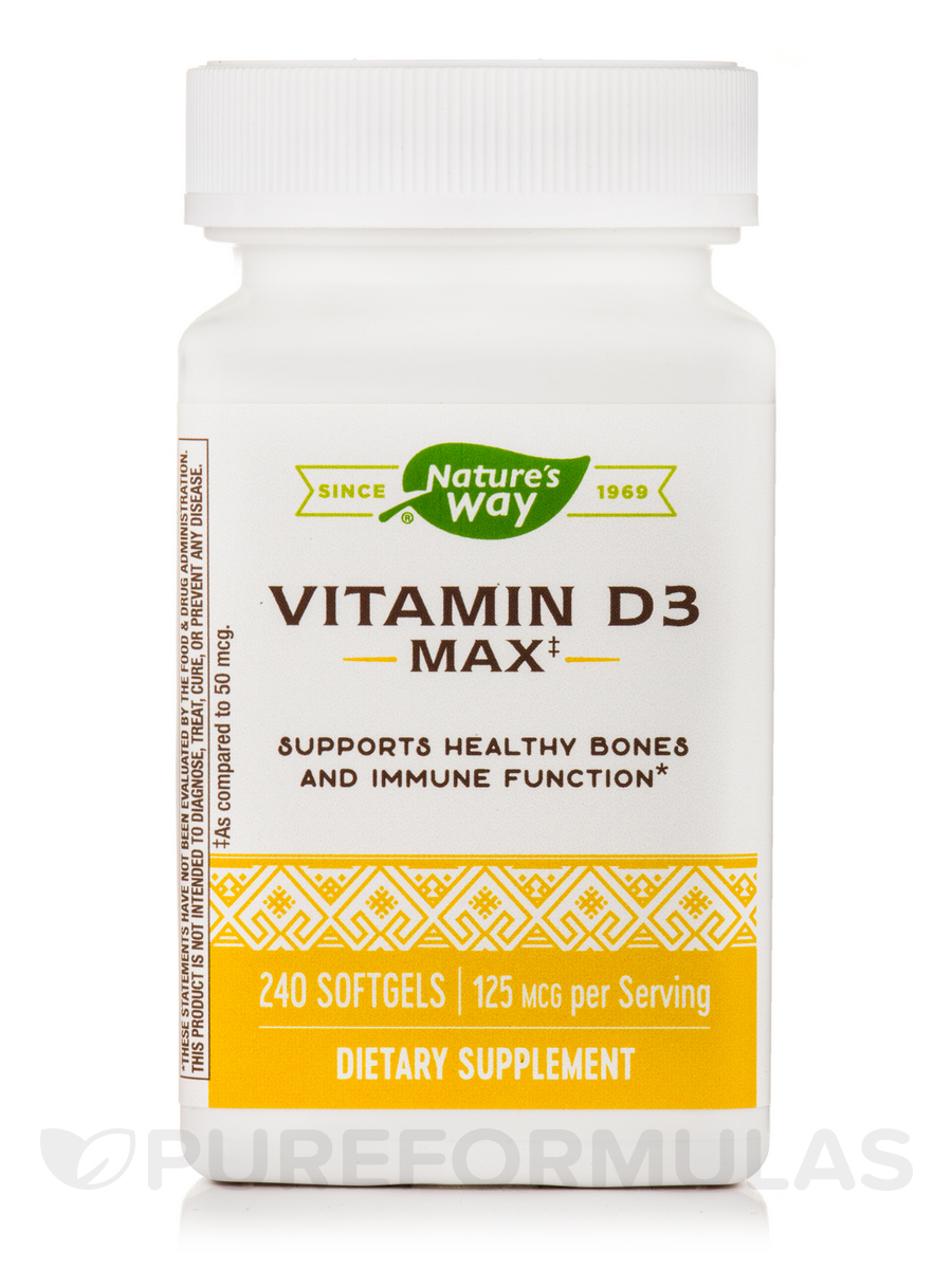 Vitamin D3 5000 IU - 240 Softgels