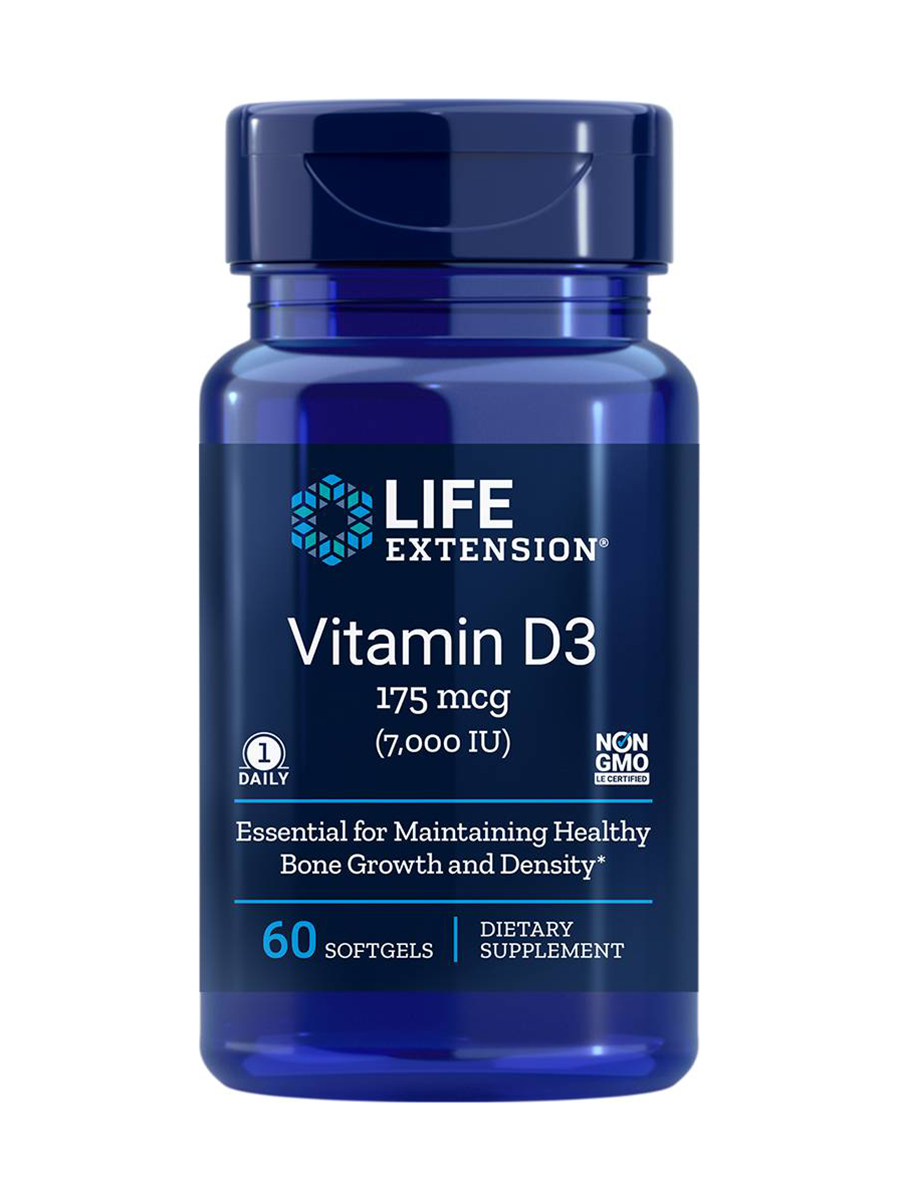 Vitamin D3 7000 IU - 60 Softgels