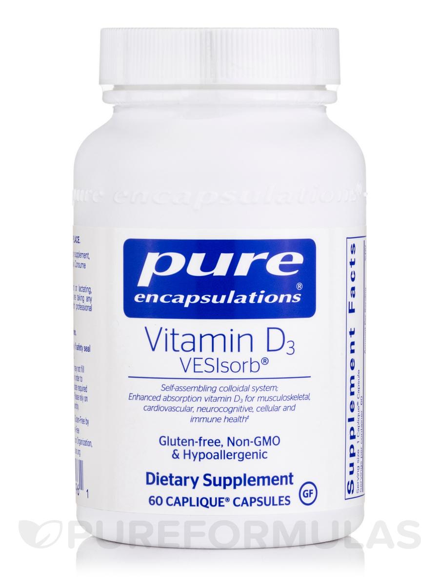 Vitamin D3 VESIsorb® - 60 Caplique® Capsules