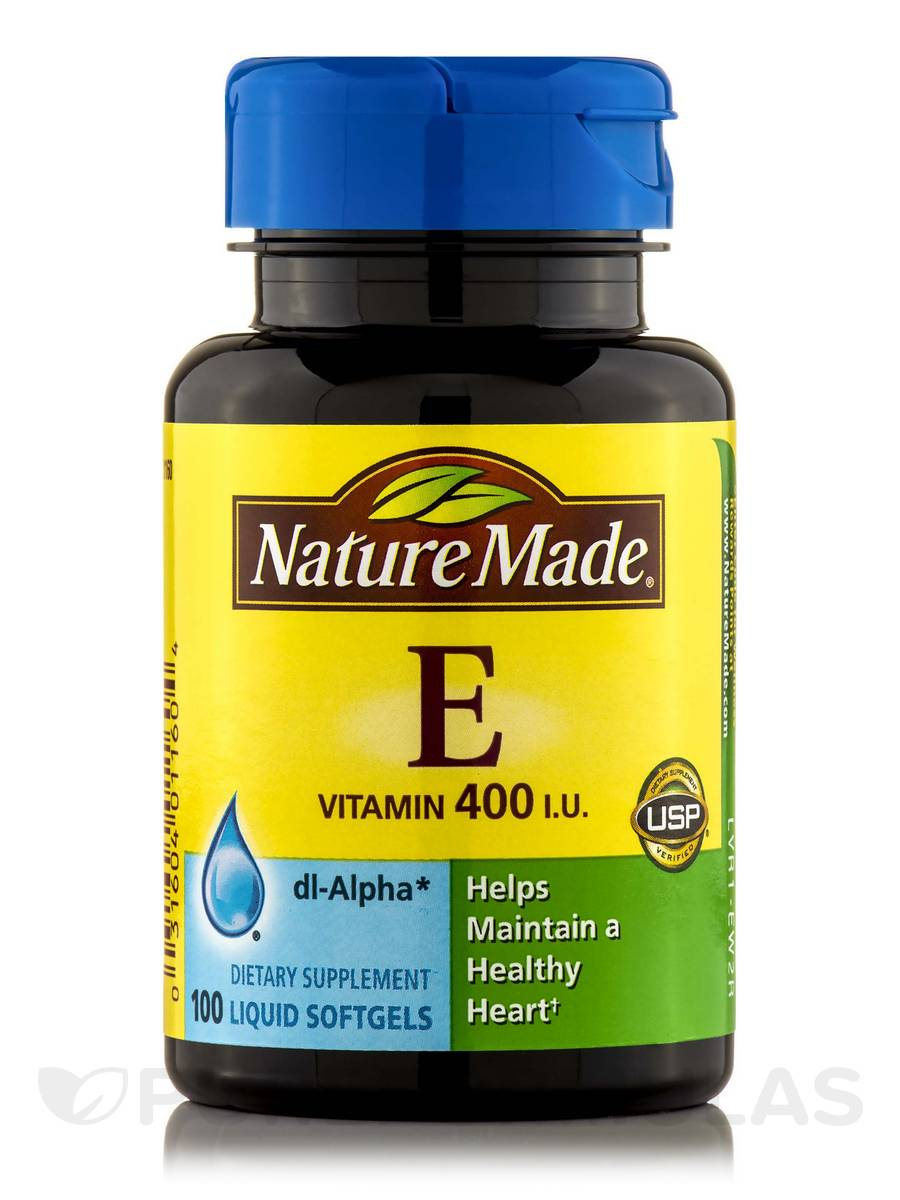Vitamin E 400 IU - 100 Softgels
