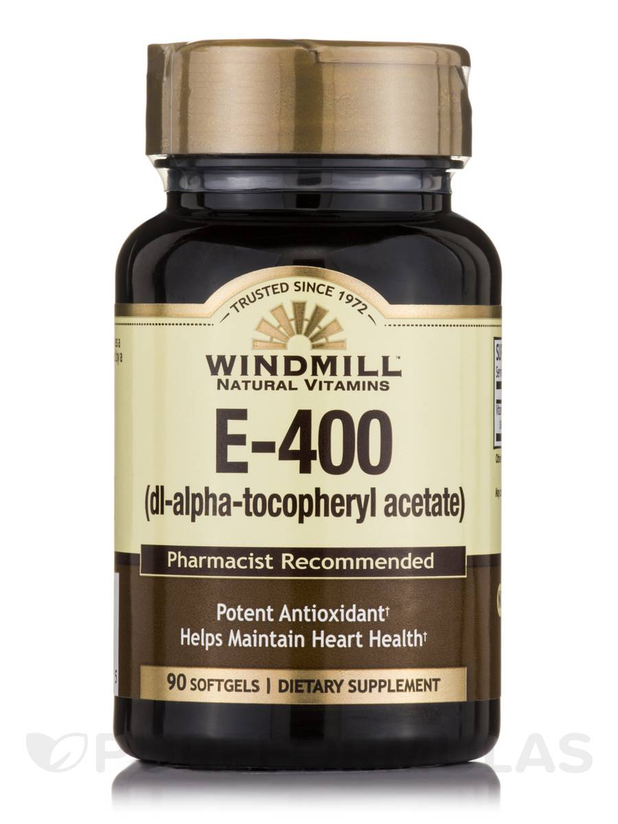 Vitamin E-400 IU - 90 Softgels