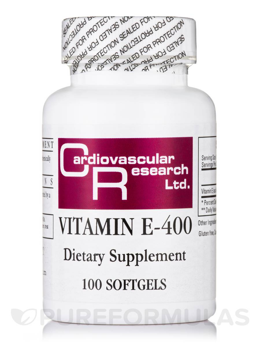 Vitamin E-400 - 100 Softgels
