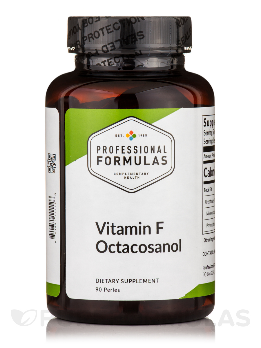 Vitamin F Octacosanol Concentrate - 90 Perles