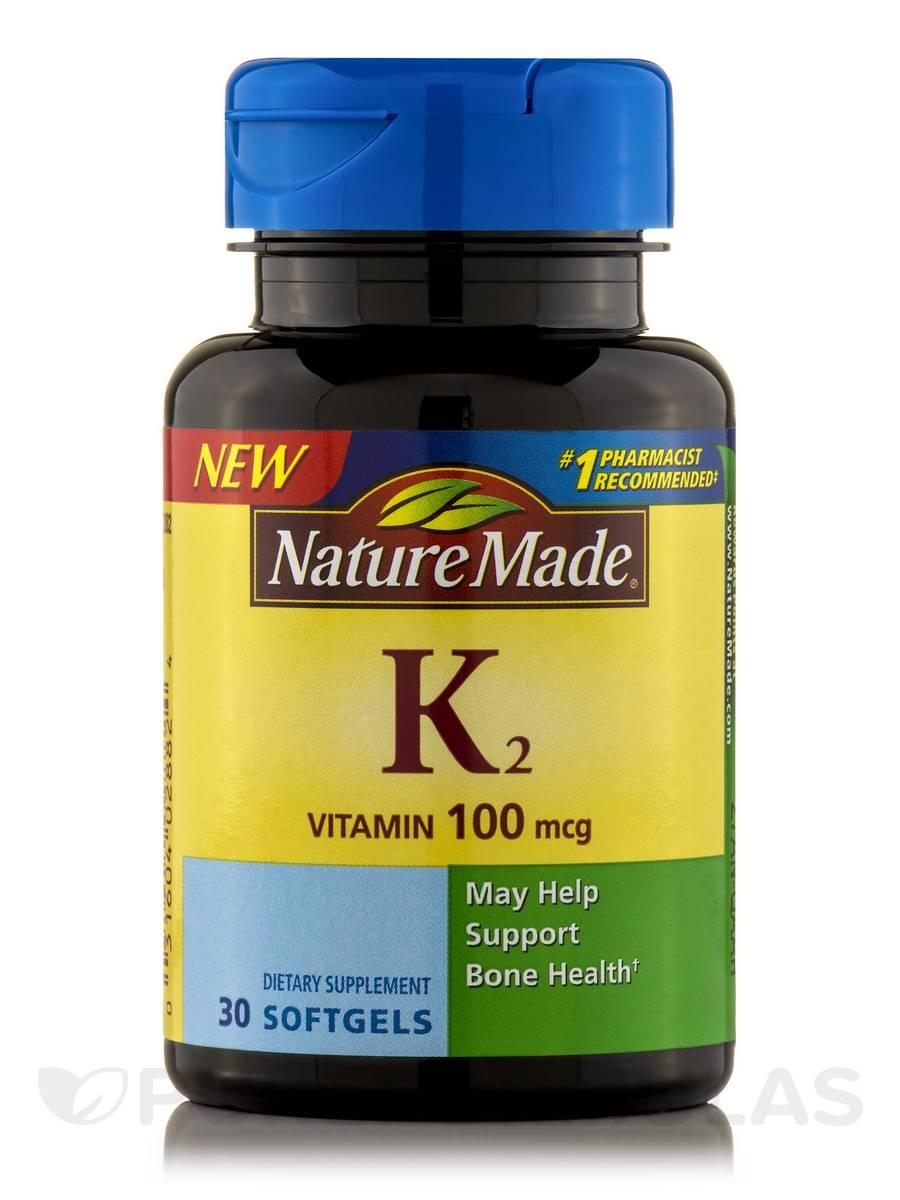 Vitamin K2 100 mcg - 30 Softgels