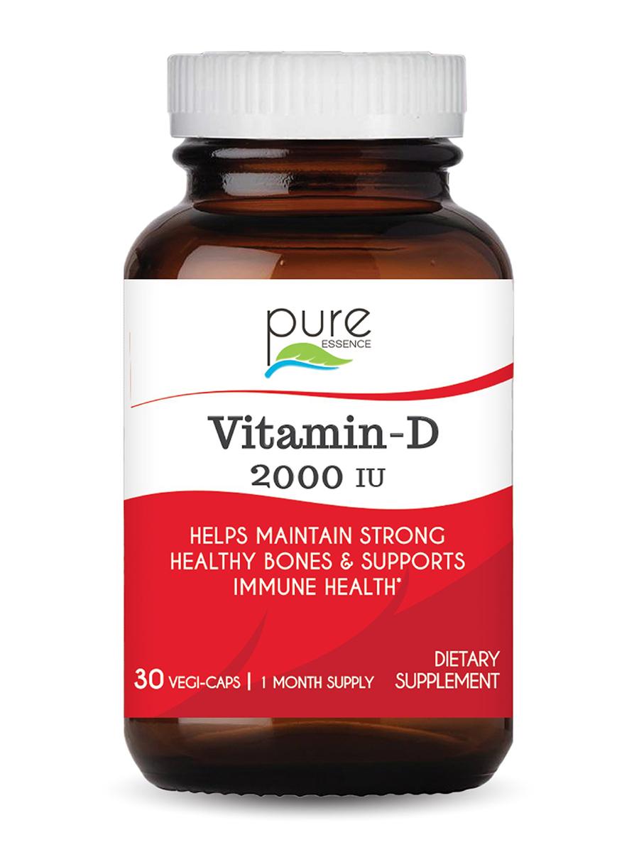 Vitamin-D 2000 IU - 30 Vegi-Caps