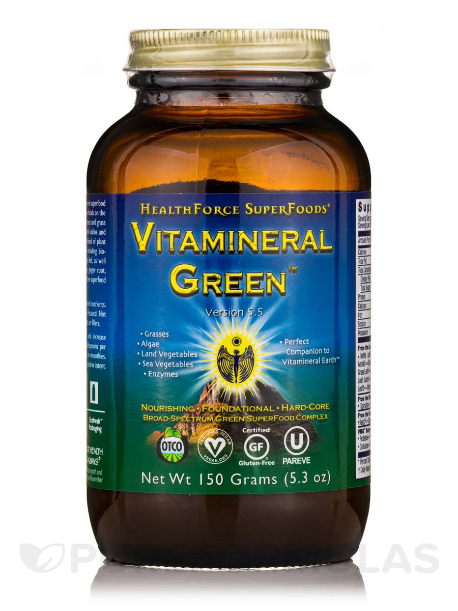 Vitamineral Green™ Powder - 5.3 oz (150 Grams)