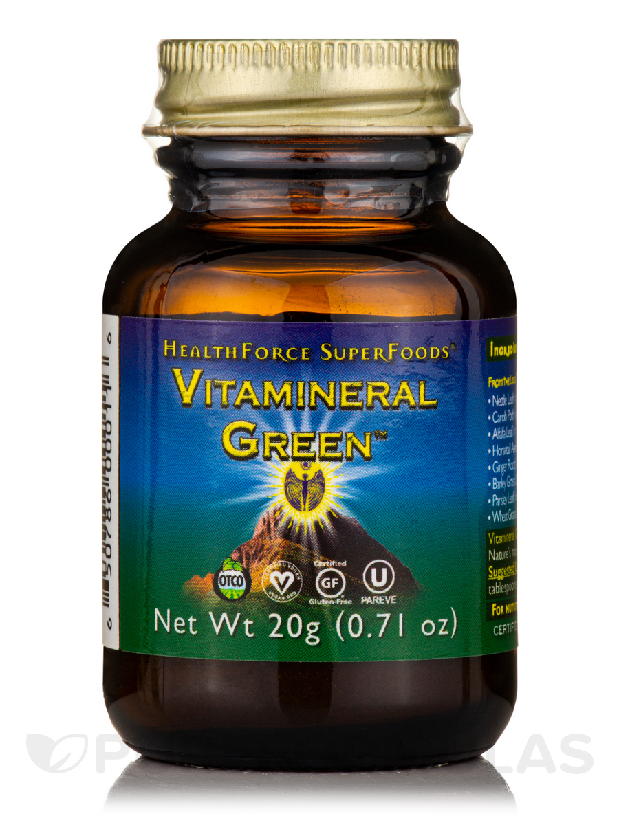 Vitamineral Green™ Powder - 0.71 oz (20 Grams)