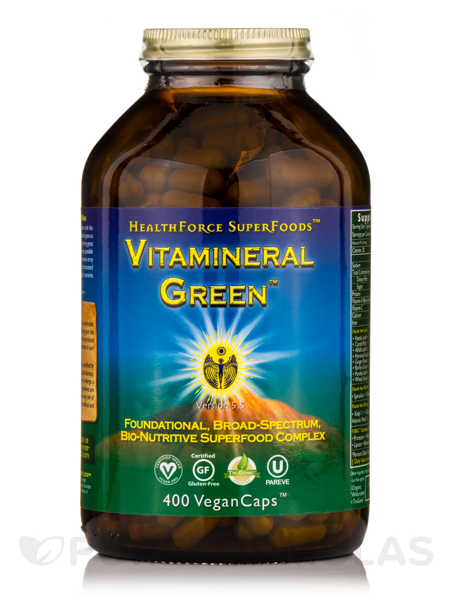 Vitamineral Green™ - 400 Vegan Capsules