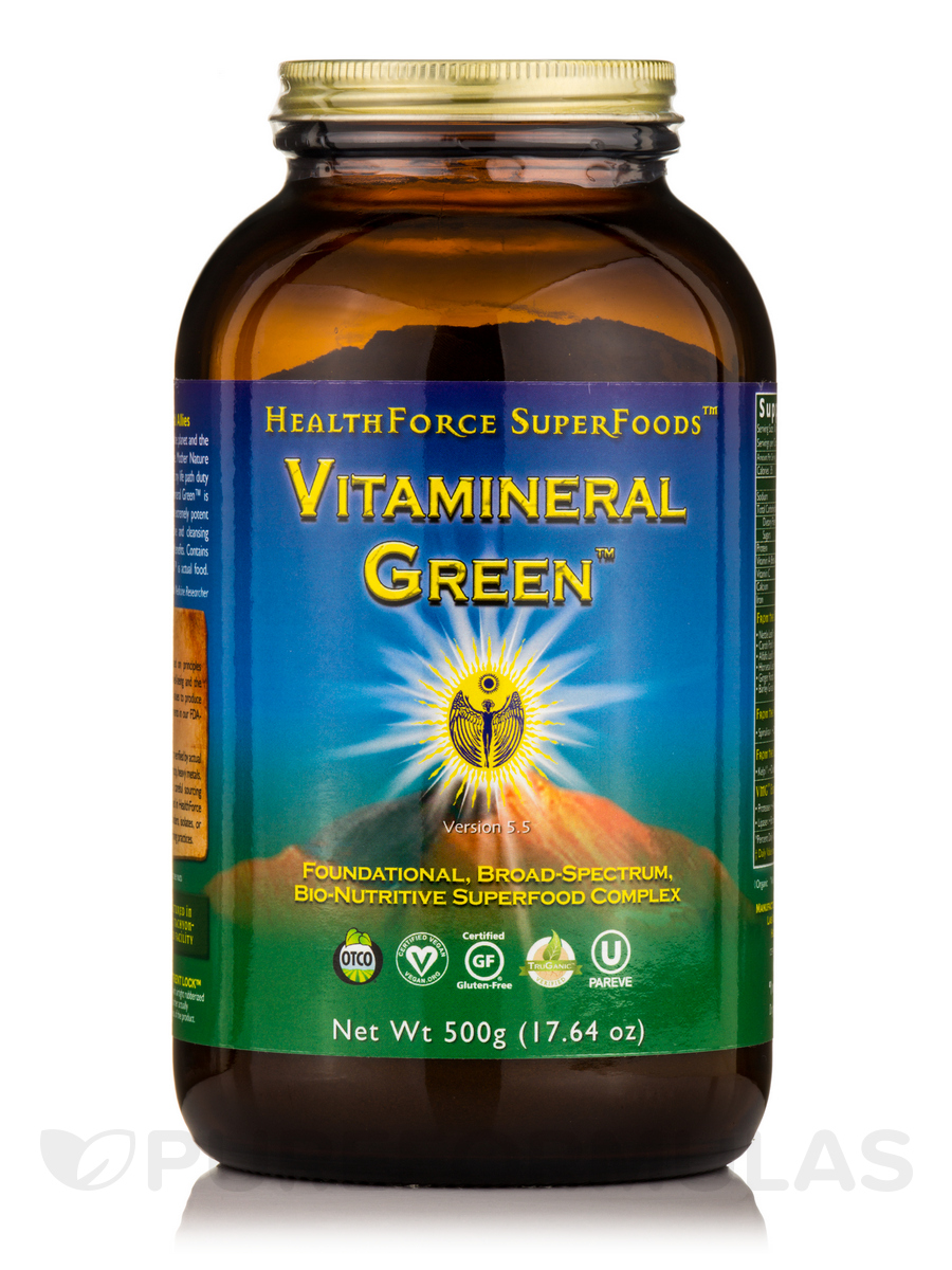 Vitamineral Green™ Powder - 17.65 oz (500 Grams)