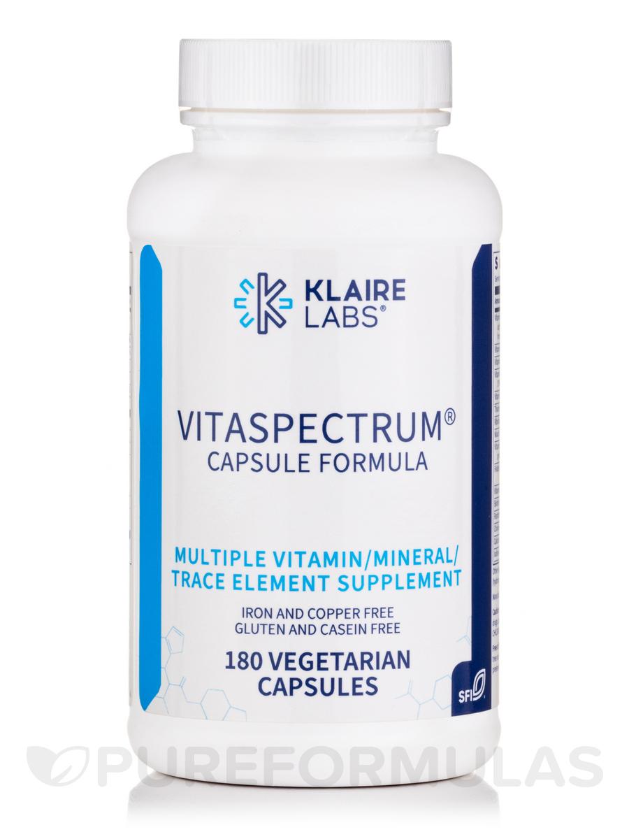 VitaSpectrum - 180 Vegetarian Capsules