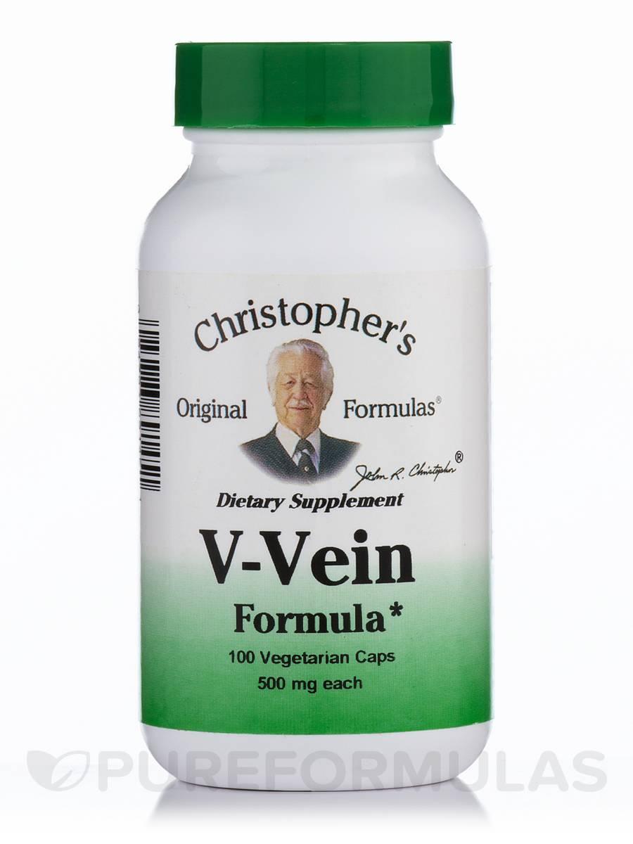 V-Vein Formula - 100 Vegetarian Capsules