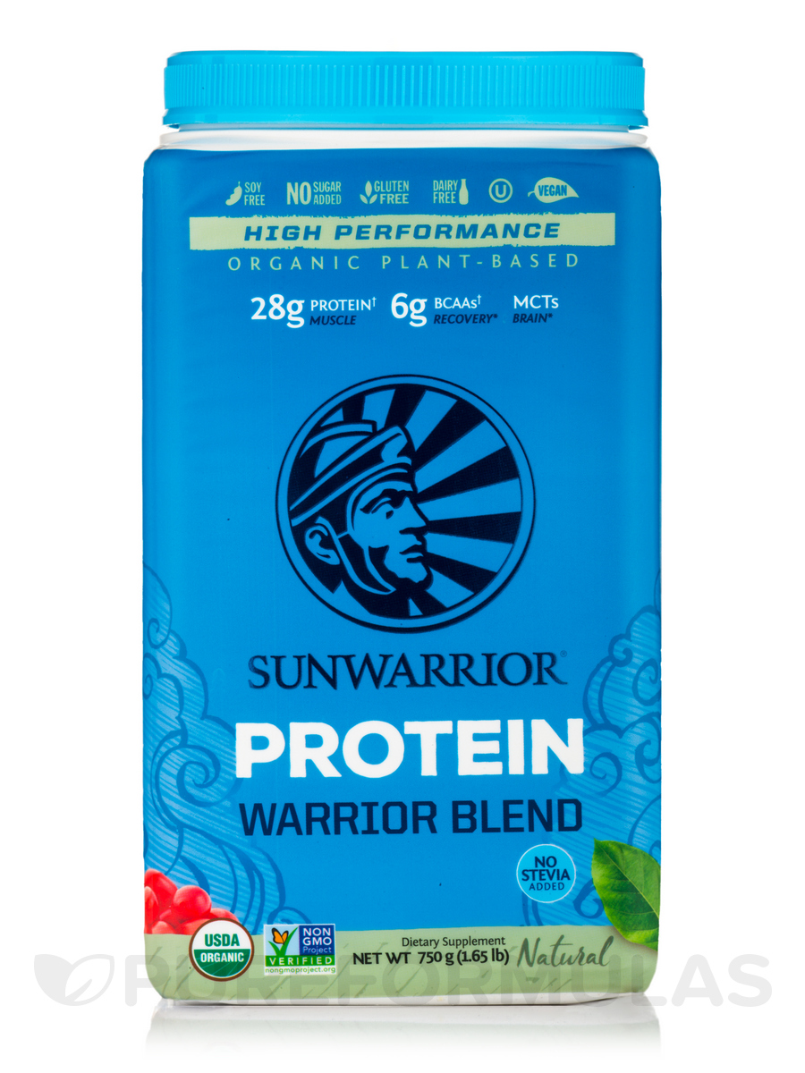 Warrior Blend (Raw Vegan Protein, Natural Flavor) - 35.2 oz (1000 Grams)