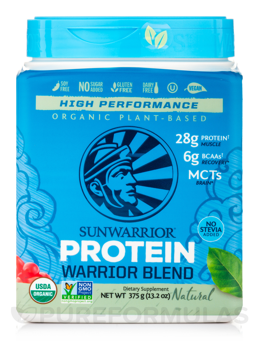 Warrior Blend (Plant-Based Protein, Natural Flavor) - 17.6 oz (500 Grams)