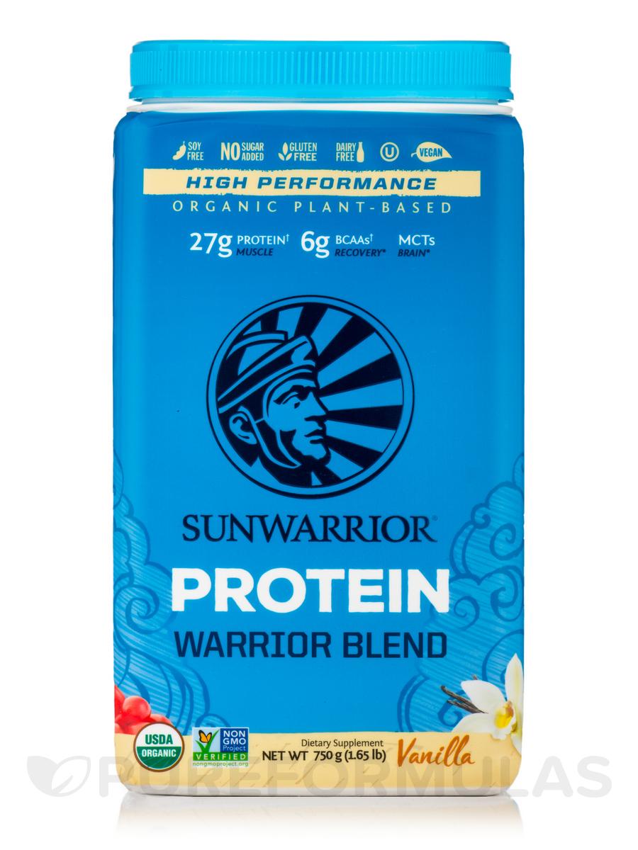 Warrior Blend (Plant-Based Protein, Vanilla Flavor) - 35.2 oz (1000 Grams)