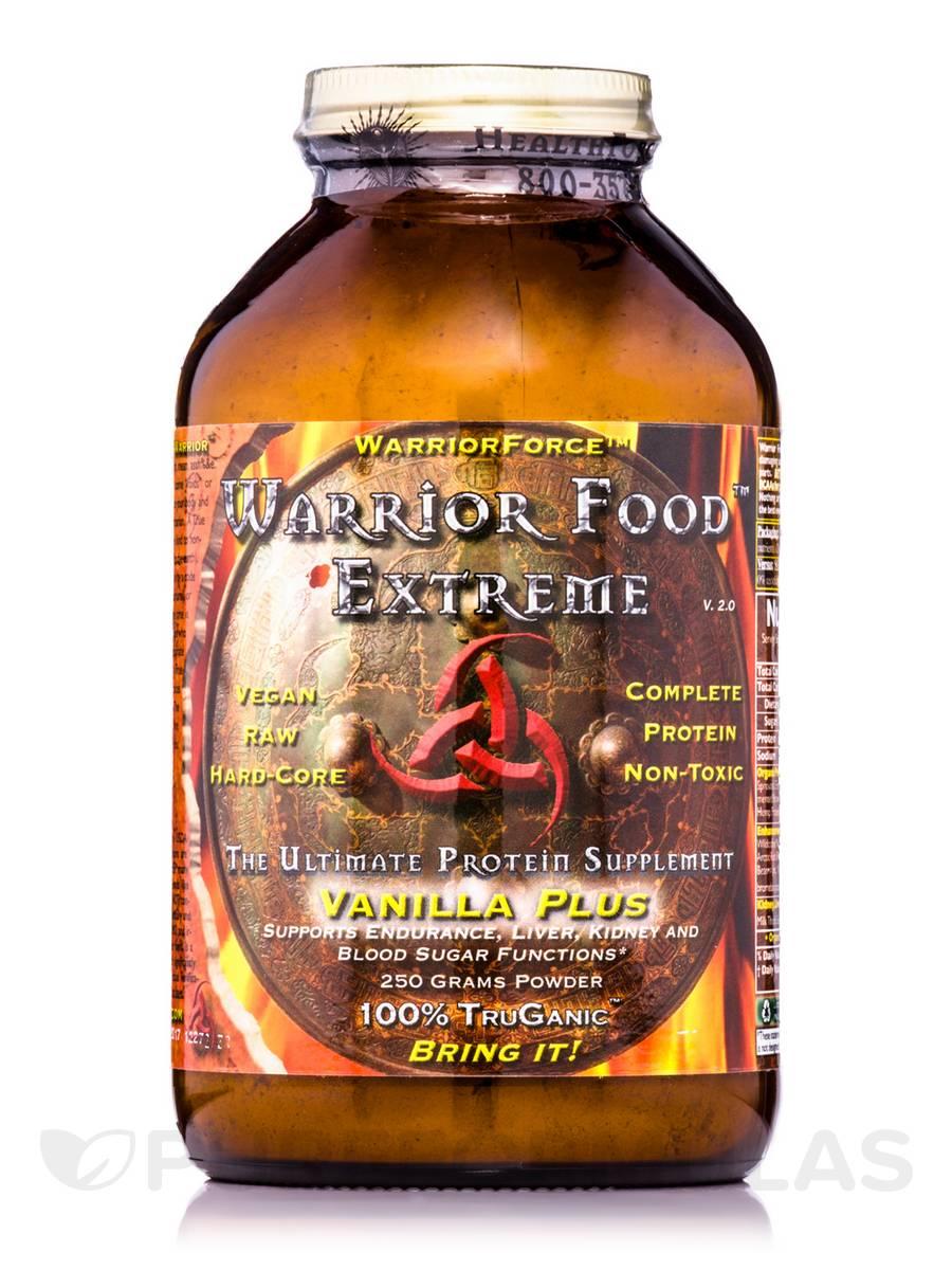Warrior Force™ Warrior Food™ Extreme Vanilla Plus Powder - 250 Grams
