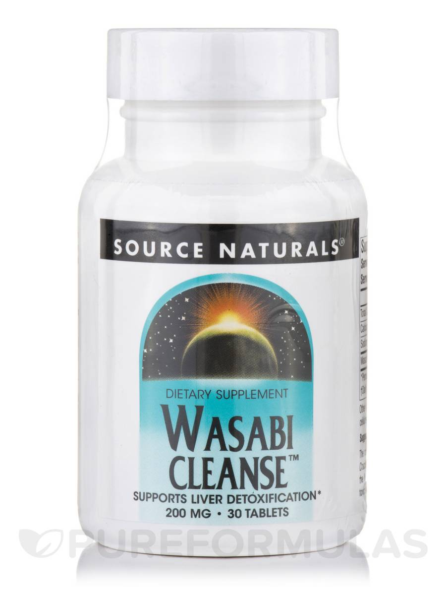 Wasabi Cleanse 200 mg - 30 Tablets