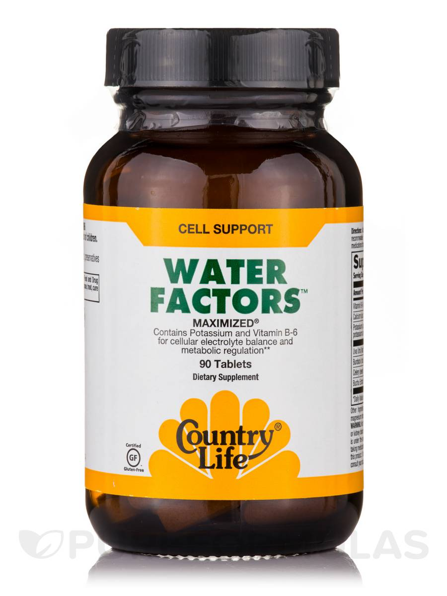 Water Factors - 90 Tablets