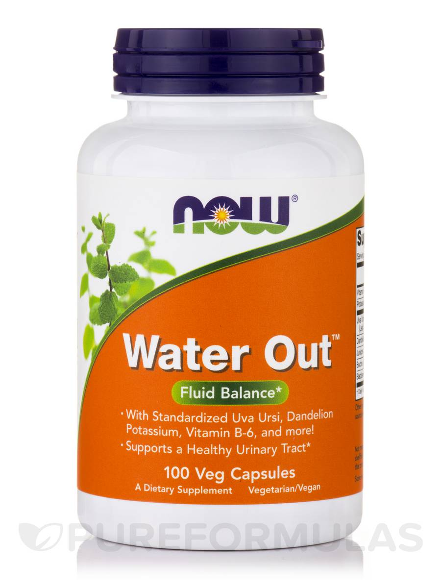 Water Out - 100 Vegetarian Capsules