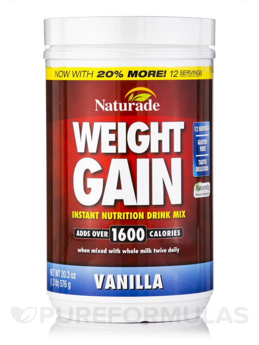 Weight Gain Powder Vanilla - 20.3 oz (576 Grams)