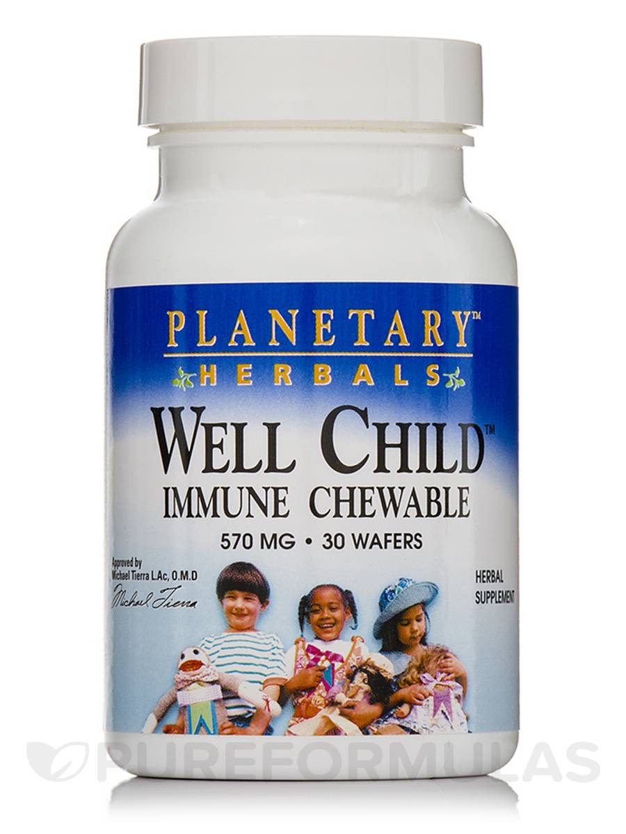 Well Child Immune Chewable 570 mg - 30 Wafers
