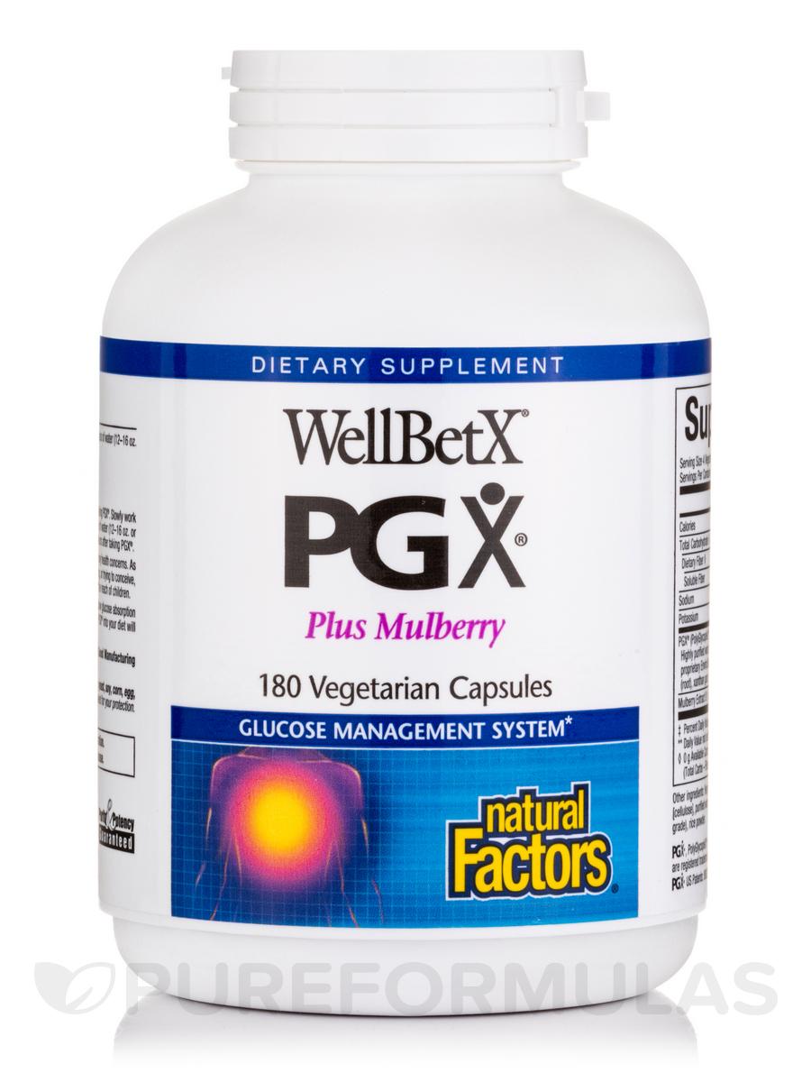 WellBetX® PGX® - 180 Vegetarian Capsules