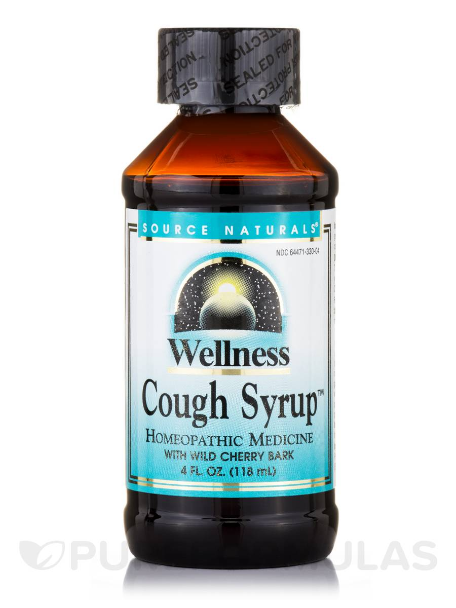Wellness Cough Syrup - 4 fl. oz (118 ml)