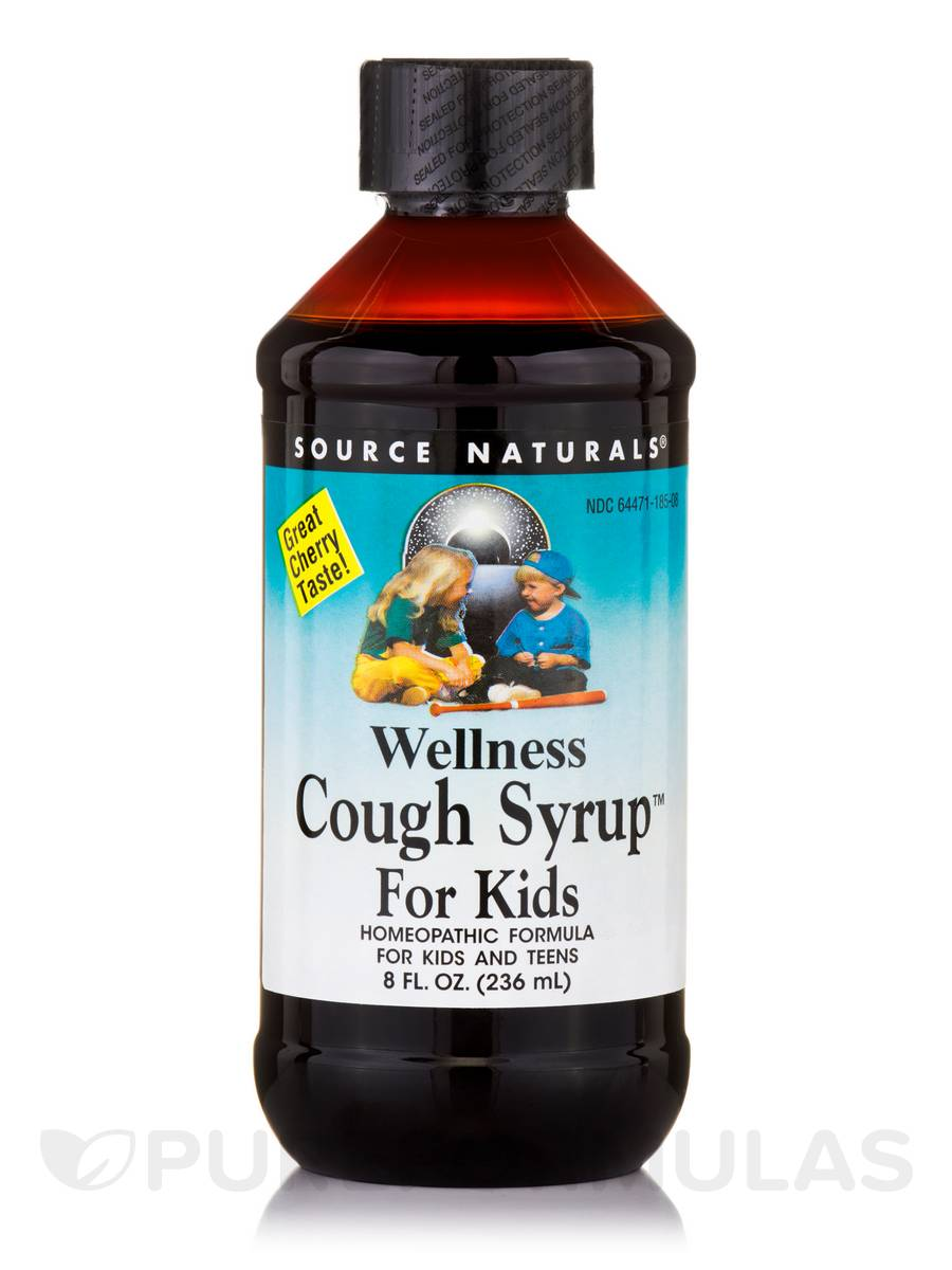 Wellness Cough Syrup™ for Kids - 8 fl. oz (236 ml)