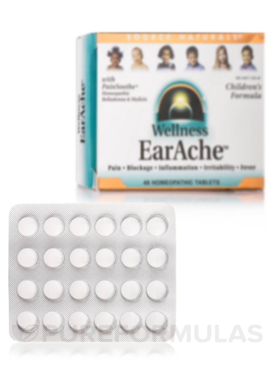 Wellness EarAche Homeopathic - 48 Tablets