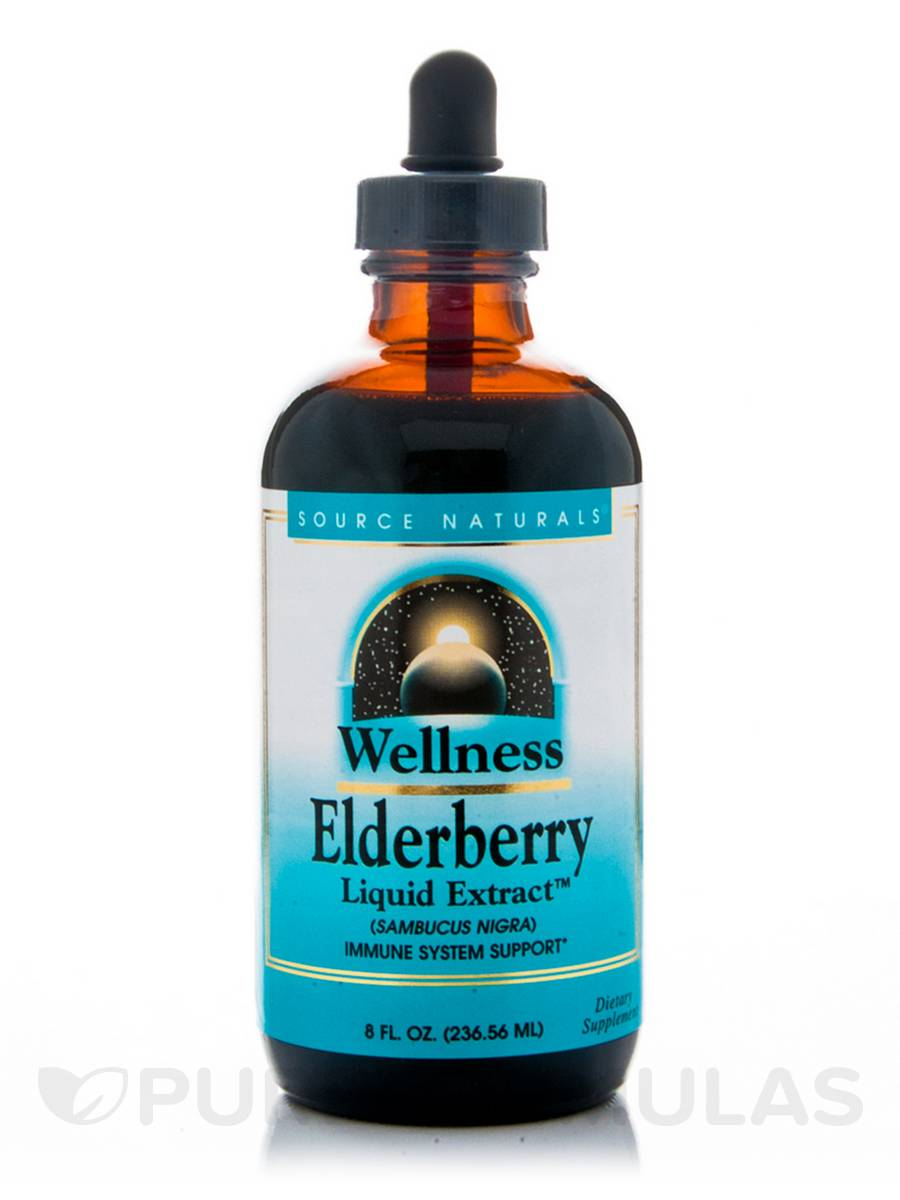 Wellness Elderberry Liquid Extract - 8 fl. oz (236.56 ml)