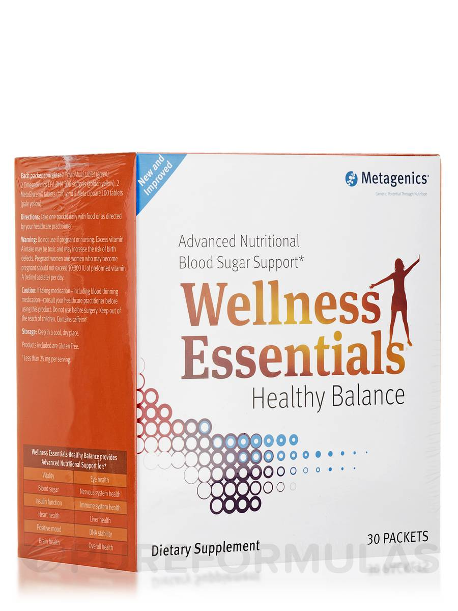 Wellness Essentials Healthy Balance - Box of 30 Packets