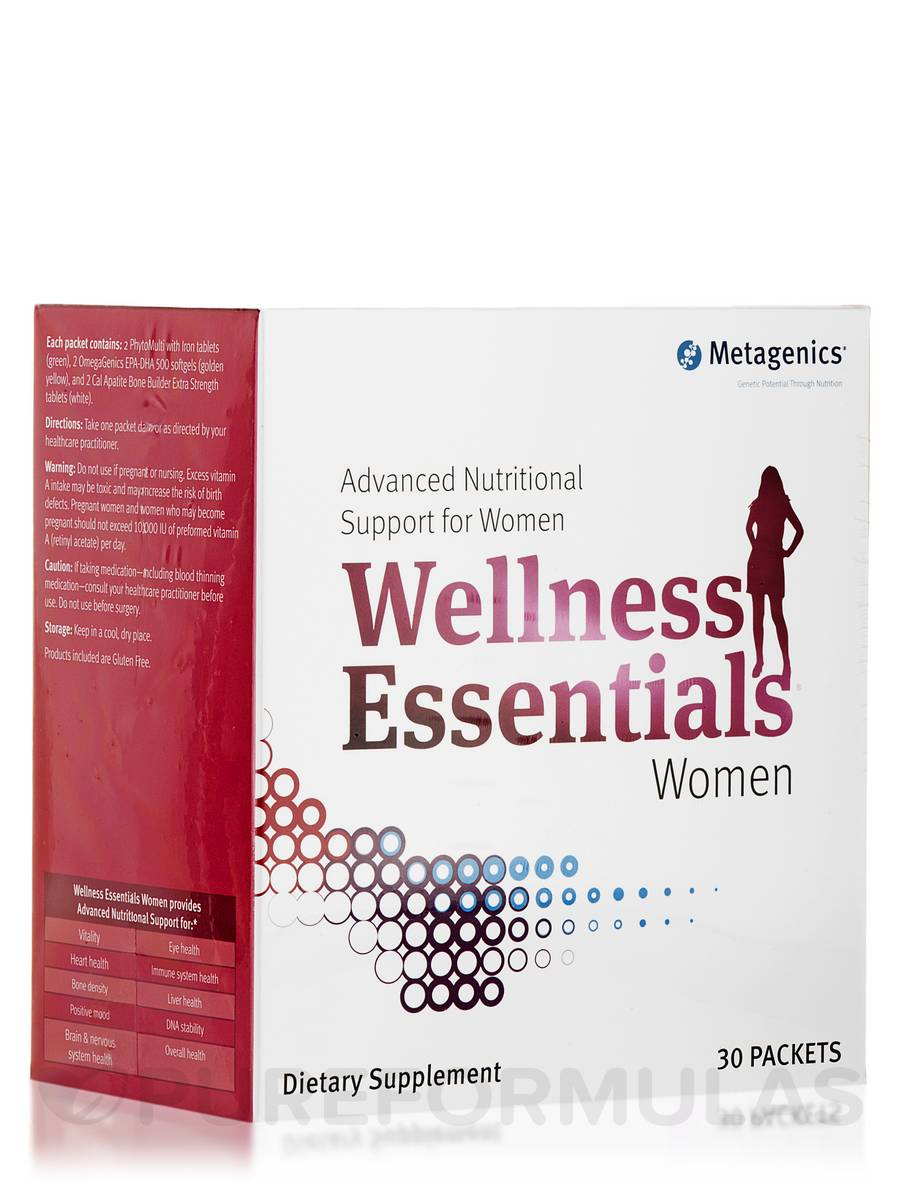 Wellness Essentials Women - Box of 30 Packets